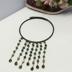 Vintage Kenneth Cole Beaded necklace